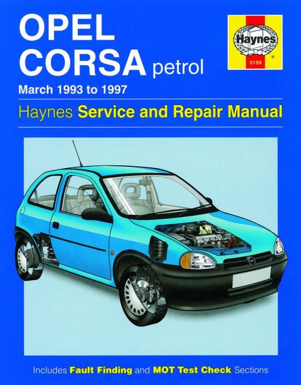 3159 haynes manual opel corsa petrol mar 93 97 rh eandmmotorfactors co uk haynes manual vauxhall corsa c pdf haynes manual vauxhall corsa 2003 download