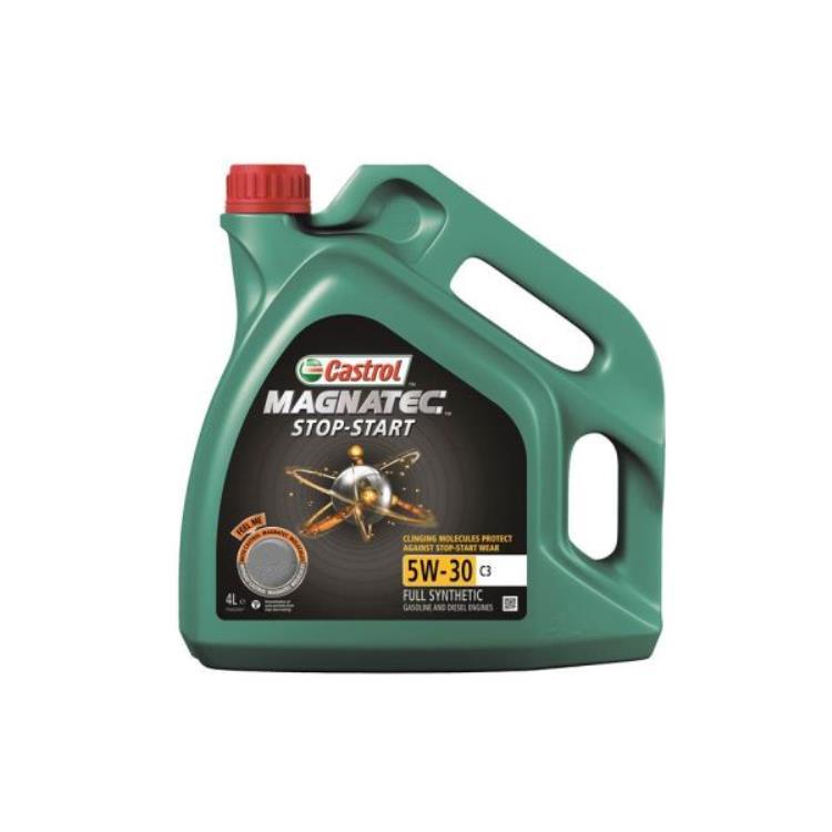 castrol magnatec stop start 5w30 c3 engine oil 4 litre 15983f. Black Bedroom Furniture Sets. Home Design Ideas