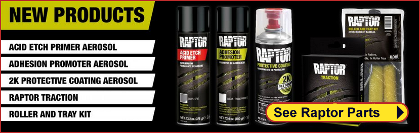 Raptor Coatings Heavy Duty Paints