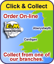 Click and Collect your Parts From Aberystwyth or Cardigan