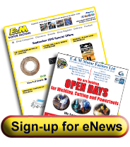 Register for eNewsletter about Car Parts For Sale with E and M Motor Factors